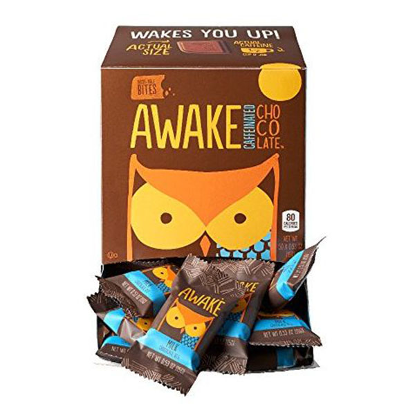 AWAKE Caffeinated Chocolate唤醒咖啡因巧克力能量咬合
