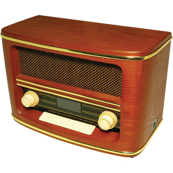 WOLVERINE RSR100 复古台式收音机