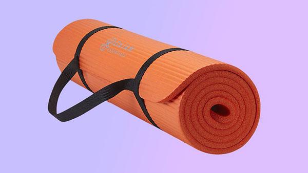 Gaiam Essentials厚瑜伽垫健身运动垫