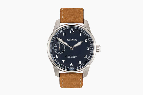 WEISS钛金属美国发行超轻型野外手表