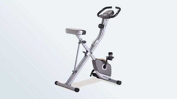 Exerpeutic折叠式磁性立式健身车