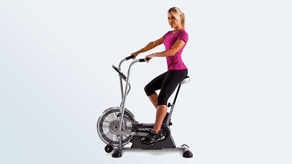 Marcy运动立式风扇自行车