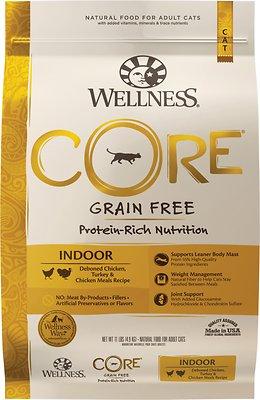 宠物健康Wellness无谷鸡肉干猫粮