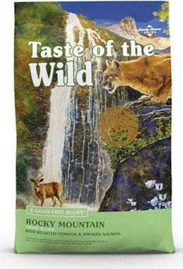 Taste of the Wild Rocky Mountain无谷物干猫粮