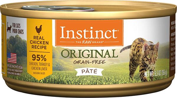 Nature's Variety Instinct无谷物鸡肉罐头猫粮