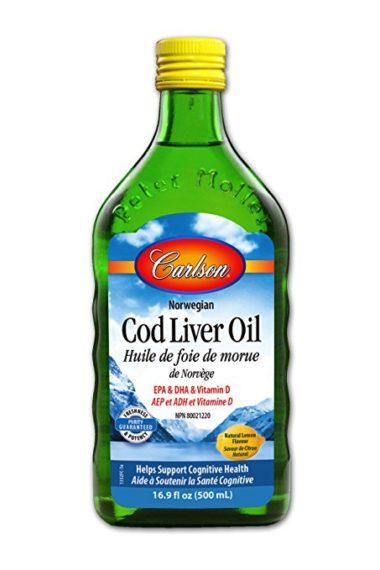 卡尔森鳕鱼肝油