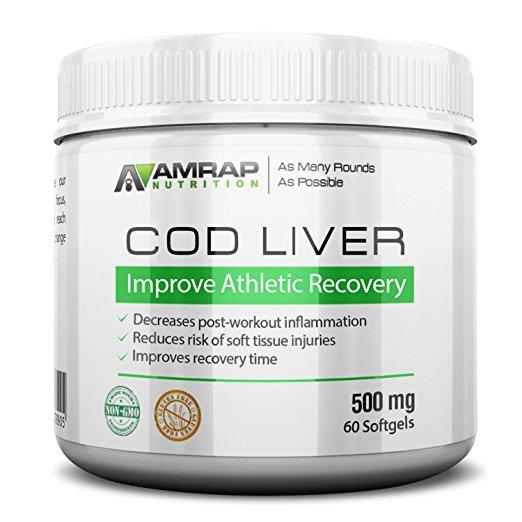 AMRAP营养鳕鱼肝油
