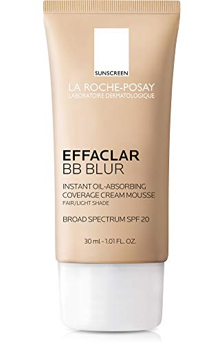 最适合易长粉刺的皮肤:La Roche-Posay Effaclar BB霜