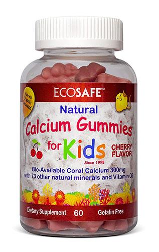 ECO SAFE珊瑚钙维生素D3儿童软糖