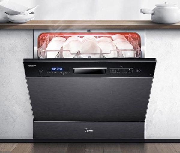 美的8套洗碗机X4