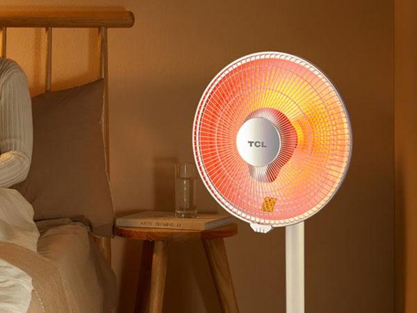TCL小太阳取暖器TN-S08P