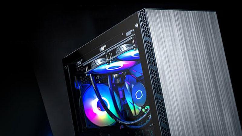 酷冷至尊机箱MB400L怎么样?MATX钢化玻璃侧板